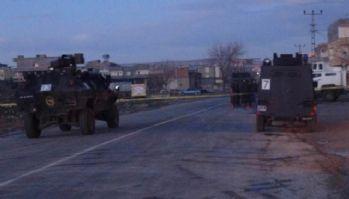 Kaymakamlık konutuna saldırı: 1 polis yaralı