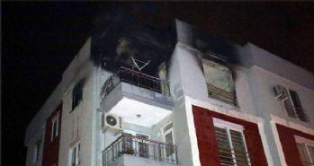 Askerden izne gelen genç annesine kızınca evi yaktı