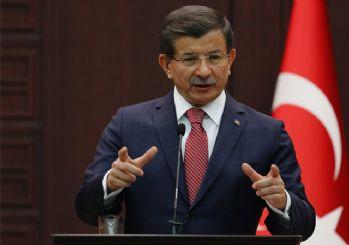 Davutoğlu'ndan CHP'ye: Ya Türkiye'nin ya PKK'nın yanında olacaklar