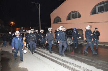 İzinsiz yürüyüşte 9 gözaltı