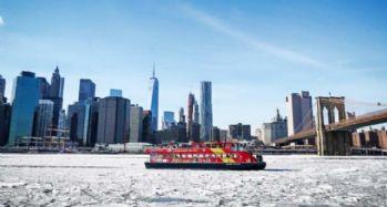 New York soğuktan dondu