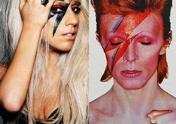 Lady Gaga David Bowie dövmesi sosyal medyanın konusu oldu