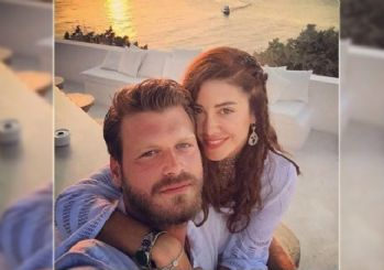 Kıvanç Tatlıtuğ ile Başak Dizer evlendi