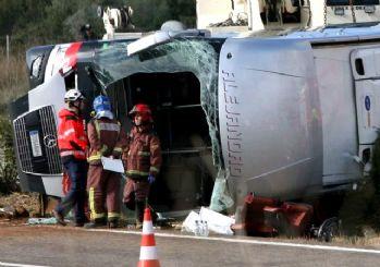 İspanya'da Erasmus öğrencilerini taşıyan otobüs kaza yaptı: 14 ölü