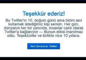 Twitter 10 yaşında!