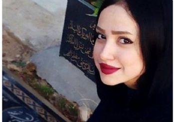 İran sosyal medyasından çıkan tuhaf trend! Mezarlıkta özçekim!