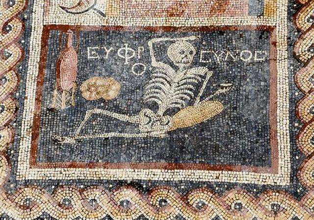 Hatay'da bulunan mozaikte yazan inanılmaz not!