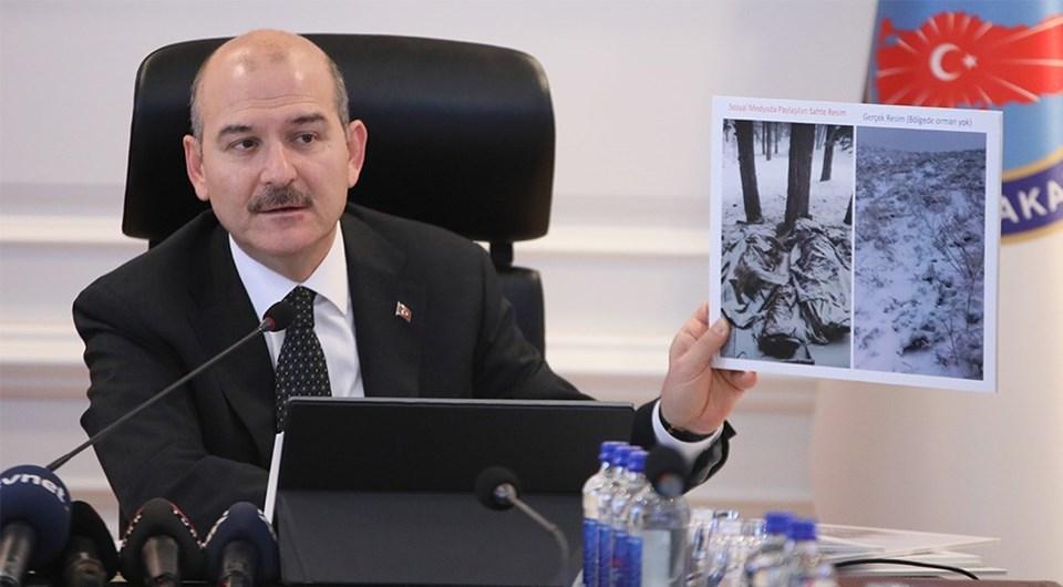 İçişleri Bakanı Süleyman Soylu, Tunceli'de donarak şehit olan iki askerle ilgili konuştu…