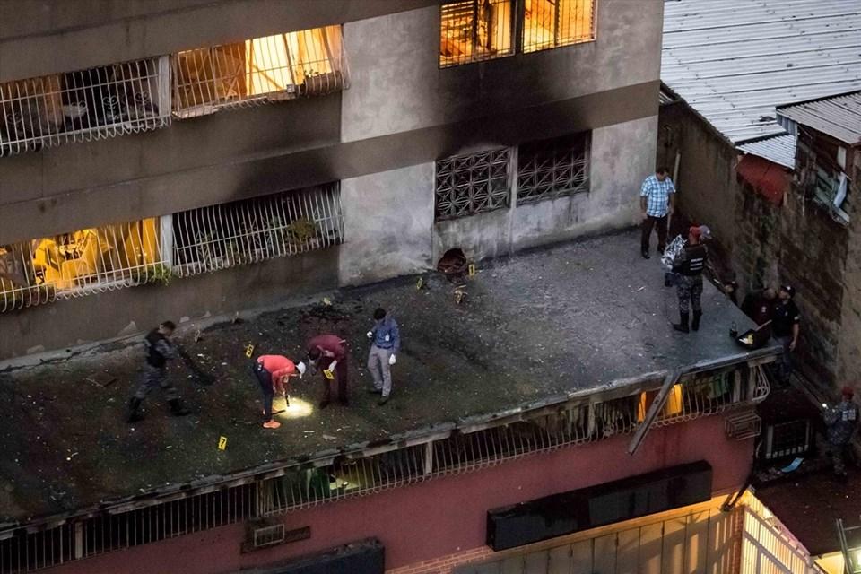 Maduro'ya bomba yüklü drone ile suikast girişimi…