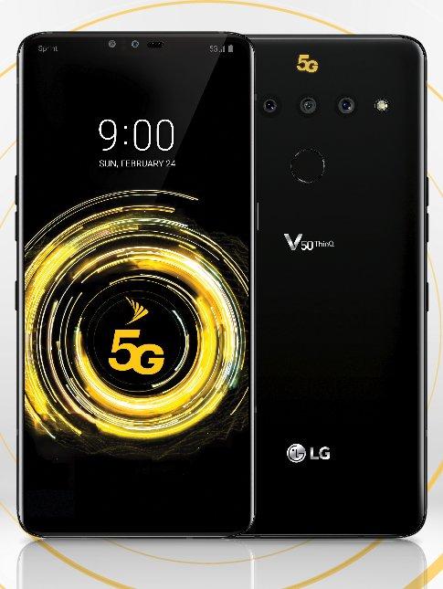 LG'nin 5G destekli telefonu…