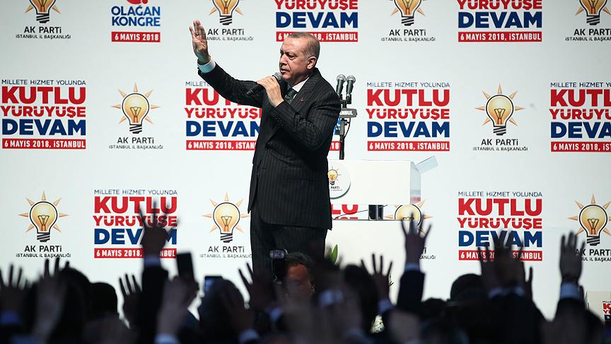 AK Parti'nin yaptırdığı anket sonucu ilk turda Erdoğan kazanıyor…