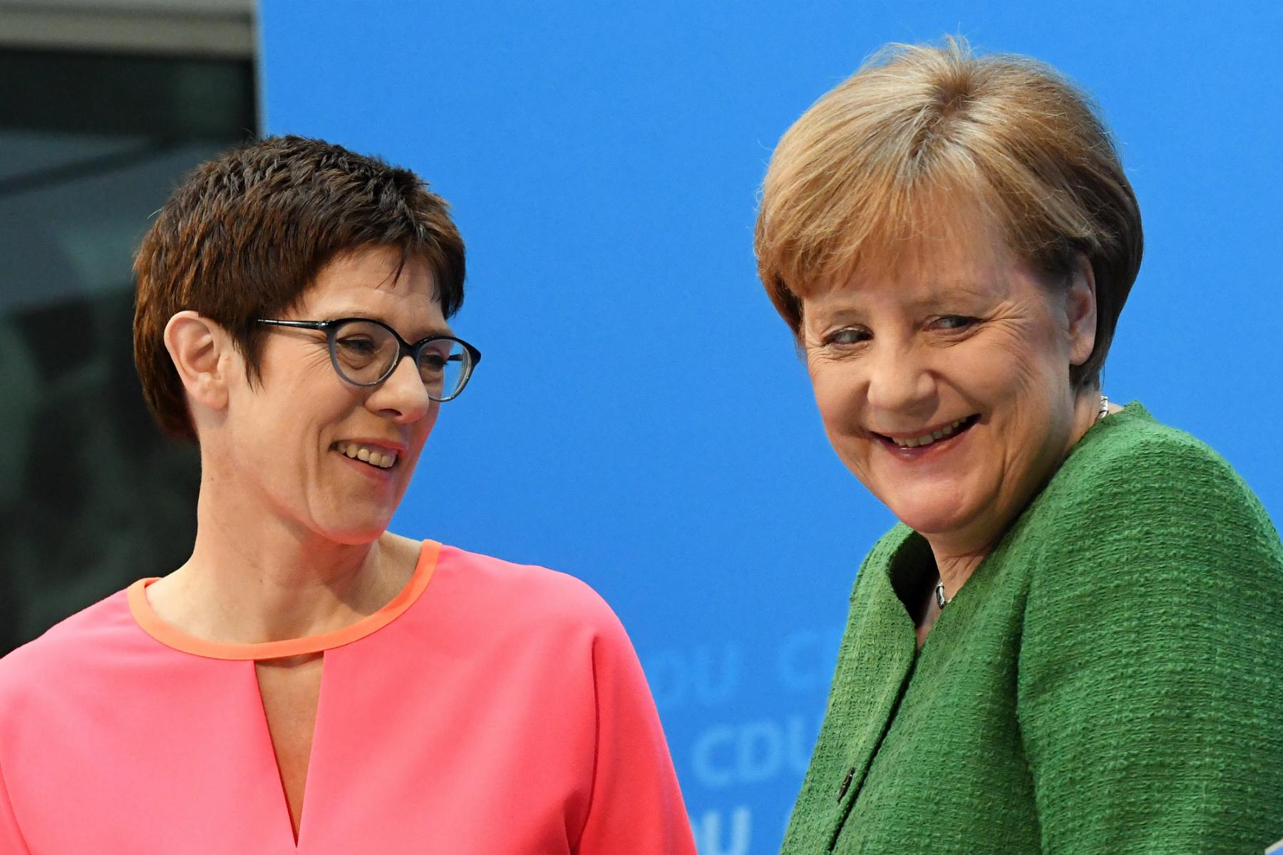 İşte Almanya'nın yeni Merkel'i…