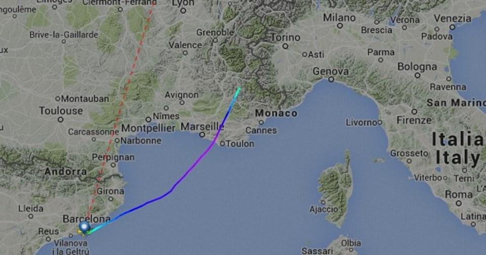 Fransa da yolcu uçağı düştü hürhaber