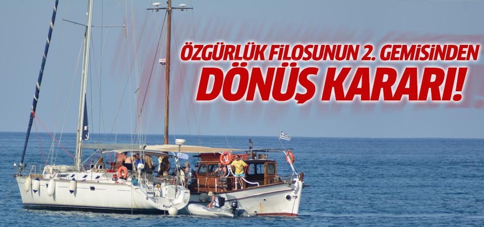 Juliano 2 teknesi Girit'e geri dönüş kararı aldı