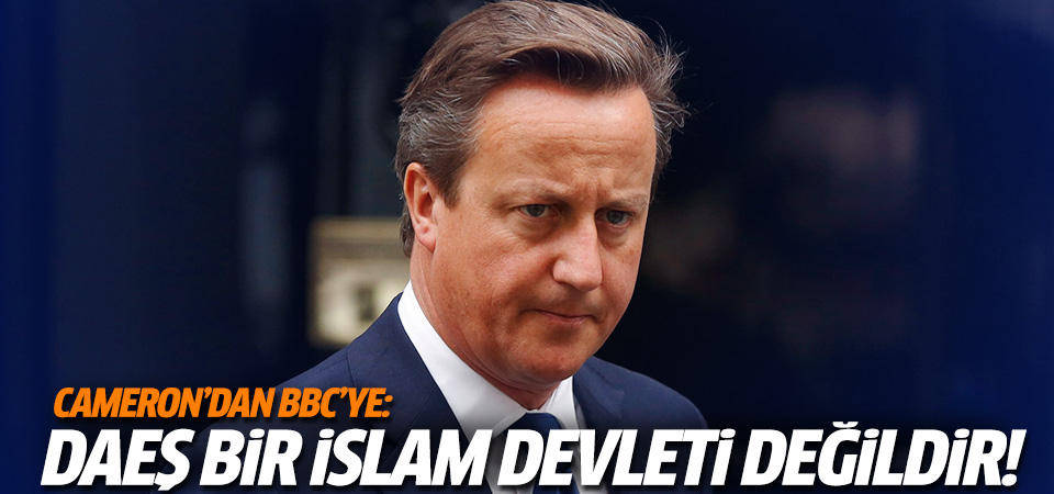 Cameron'dan BBC'de DAEŞ eleştirisi