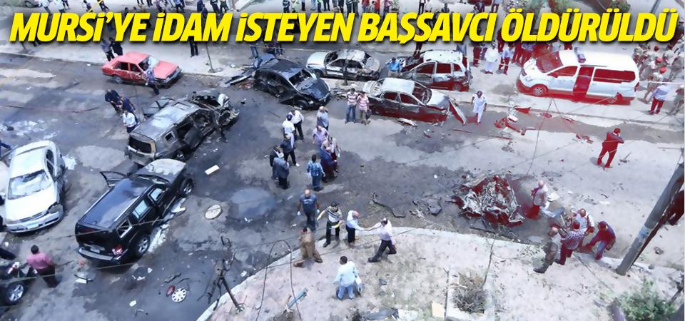 Mursi'ye idam isteyen başsavcı öldürüldü