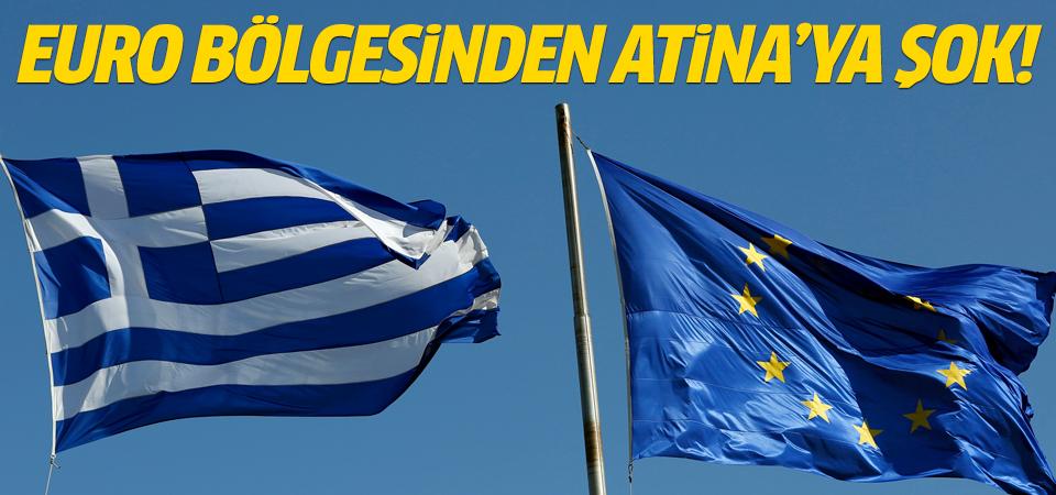 Euro Bölgesi Yunanistan'ın teklifini reddetti