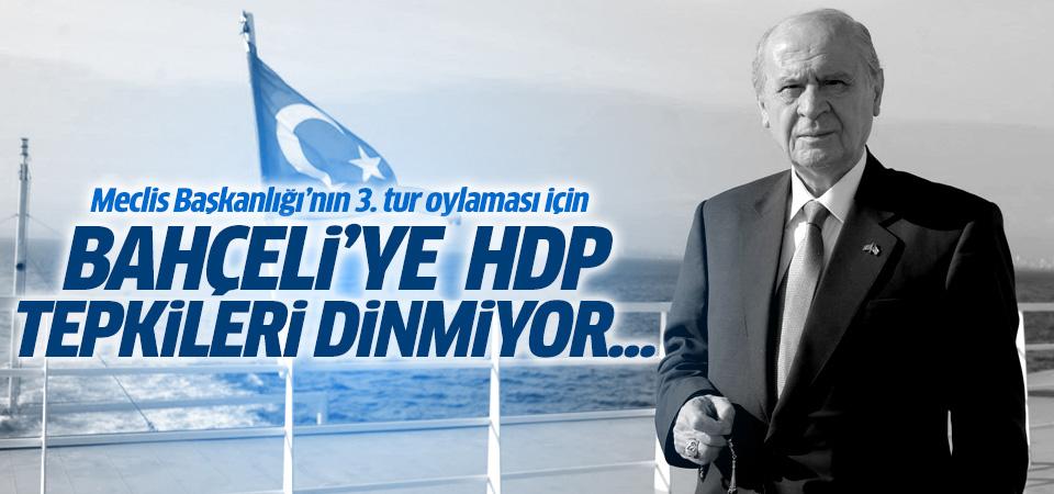 Bahçeli'nin HDP sözlerine sert tepkiler geldi