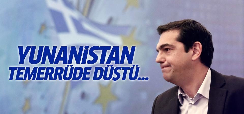 IMF: Yunanistan borcunu ödemedi