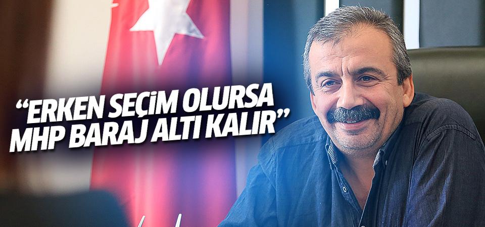 HDP'li Önder: Erken seçim olursa MHP baraj altı kalır