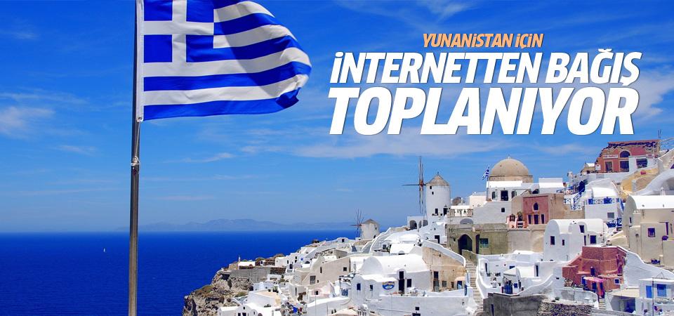 Yunanistan için internetten bağış kampanyası başlatıldı