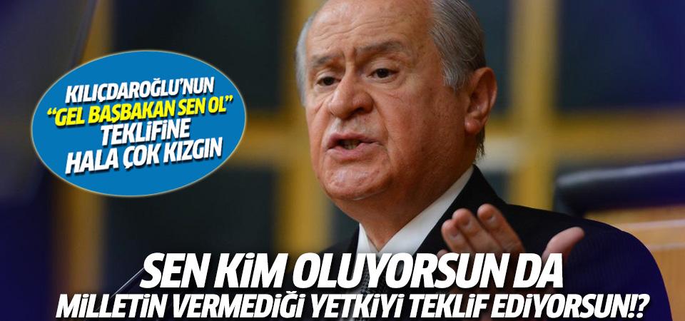 Bahçeli'den Kılıçdaroğlu'na: Milletin vermediği koltuğu bana nasıl teklif edersin?