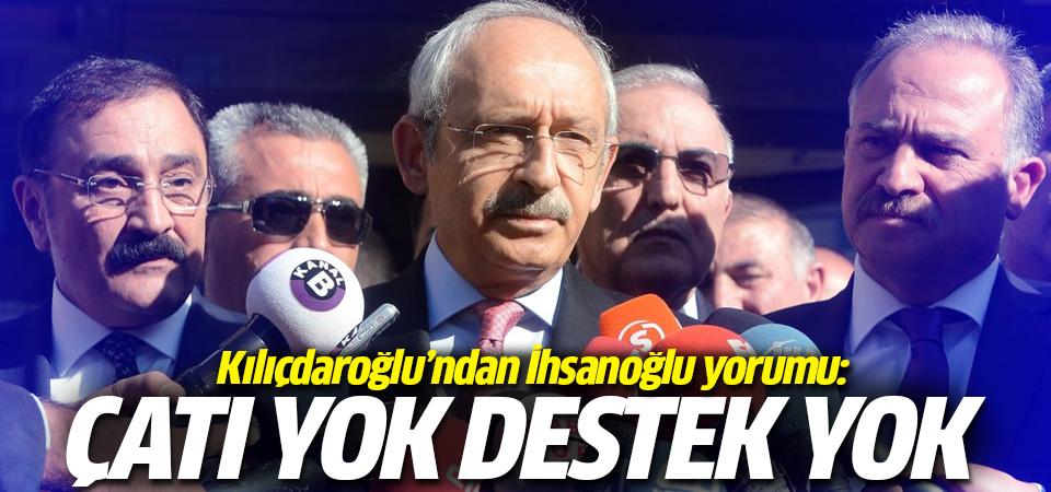 Kılıçdaroğlu cevapladı: CHP İhsanoğlu'nu destekler mi?