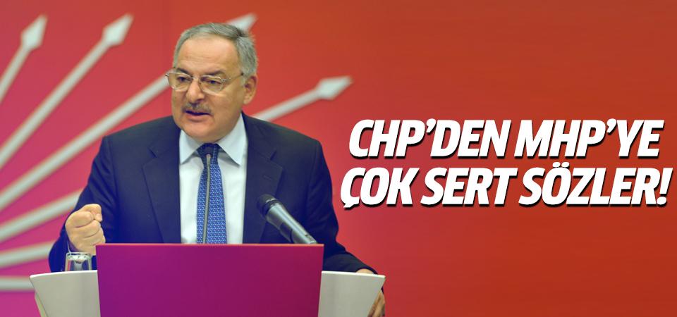 CHP'den MHP'ye sert sözler
