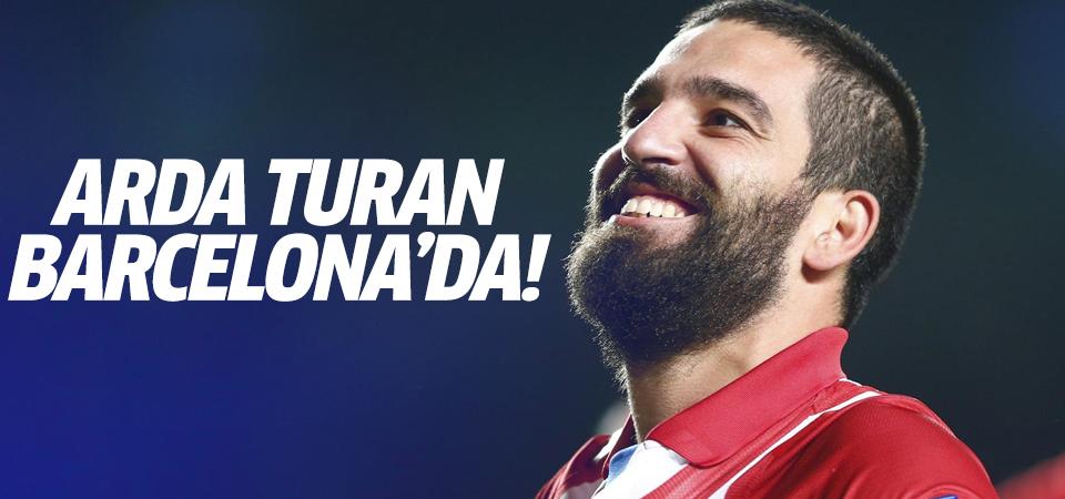 Arda Barcelona'da!