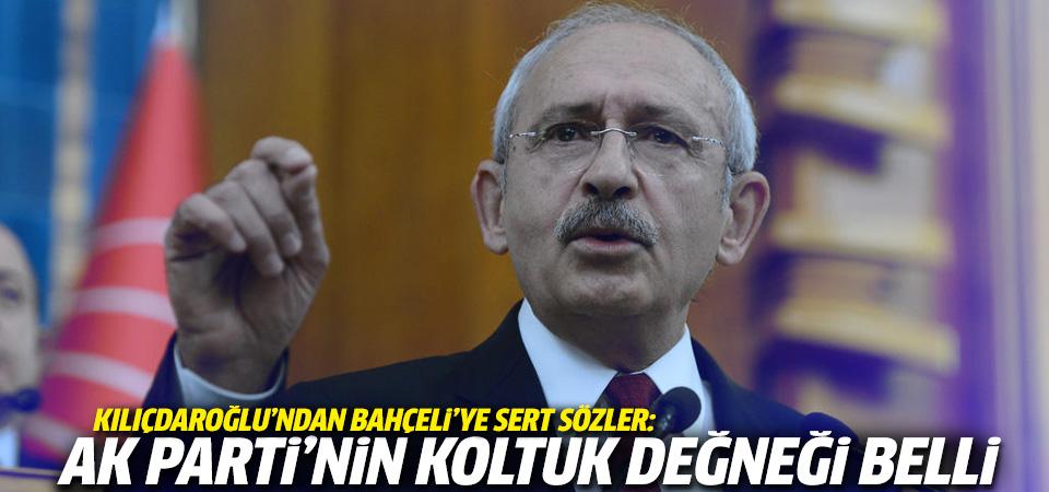 Kılıçdaroğlu: MHP,  Ak Parti'nin koltuk değneğidir