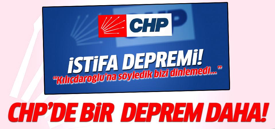 CHP'de bir deprem daha! Bu kez de Tunceli'de!