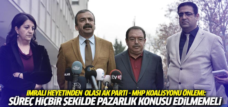 İmralı Heyeti'nden süreç ve Öcalan açıklaması