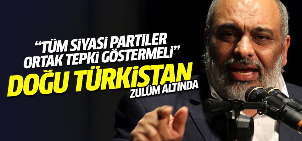 Bülent Yıldırım'dan kritik Doğu Türkistan çağrısı