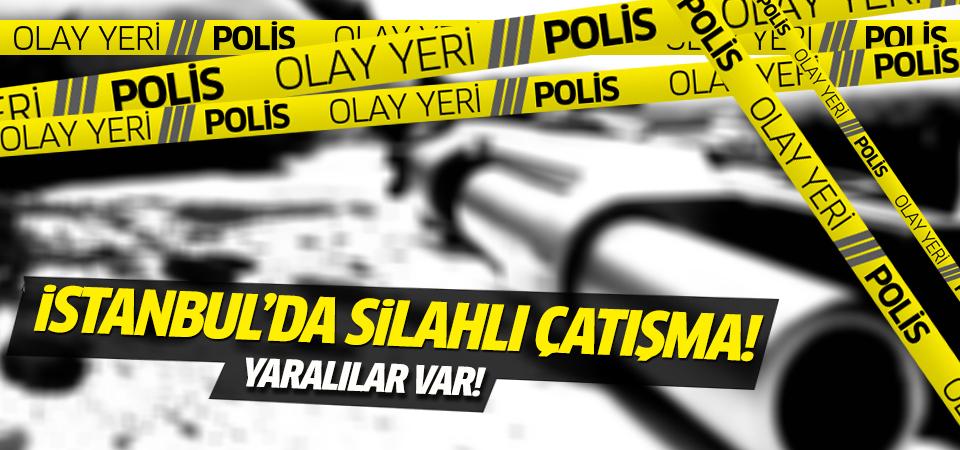 İstanbul'da silahlı çatışma:3 ağır yaralı