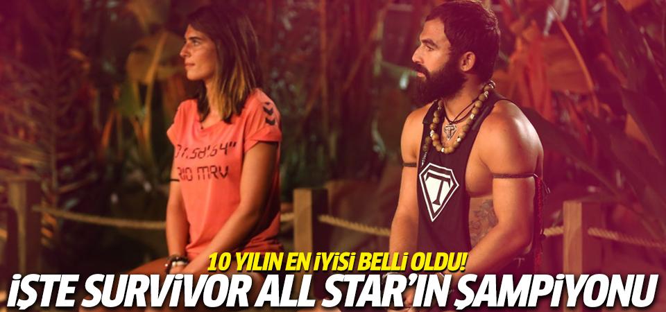 Survivor All Star'ı kim kazandı? İşte şampiyon