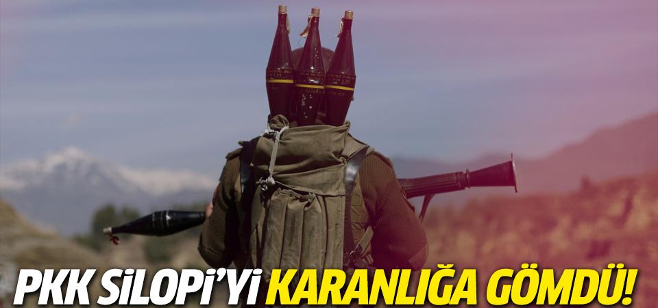PKK Silopi'yi karanlığa gömdü!