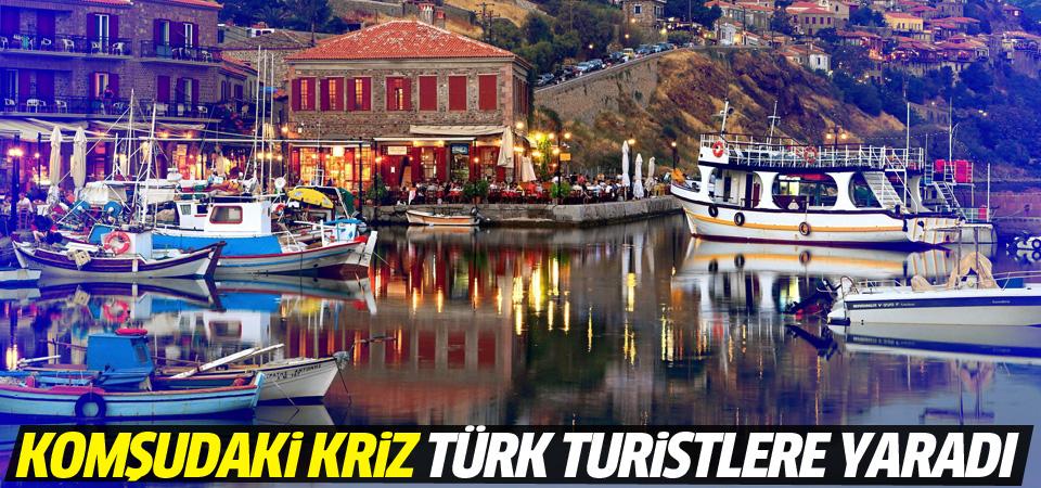Yunanistan'daki kriz Türk turiste yaradı