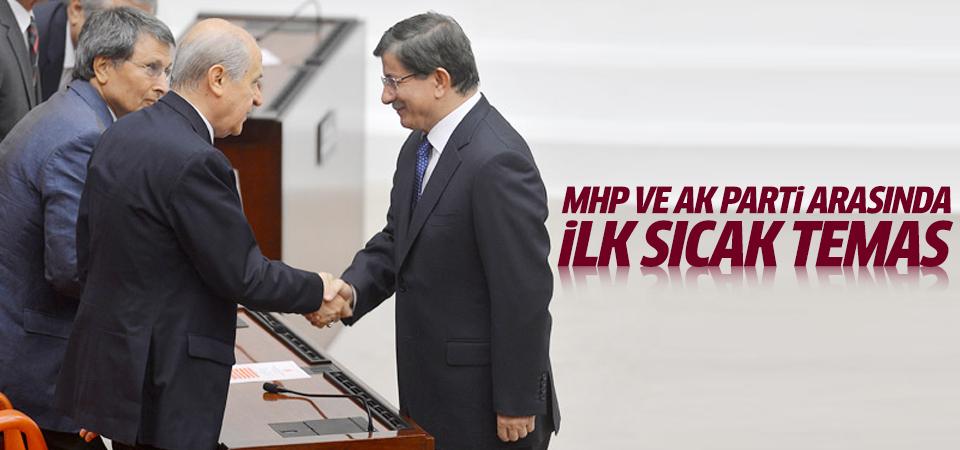 AK Parti ile MHP arasında ilk sıcak temas