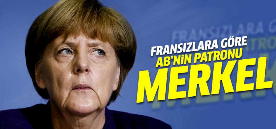 Fransızlara göre AB'nin patronu Merkel