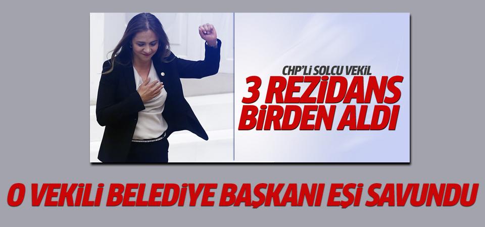 CHP'li Vekili Belediye Başkanı eşi savundu