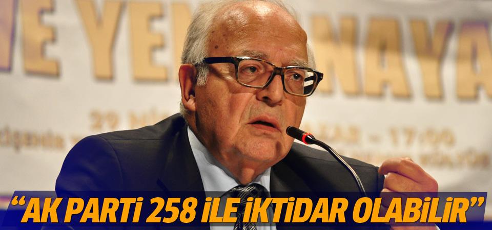 Sabih Kanadoğlu'ndan MHP'nin tavrına eleştiri