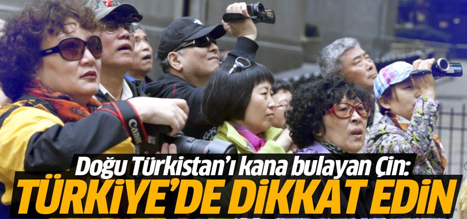 Çin'den Türkiye'deki vatandaşlarına uyarı