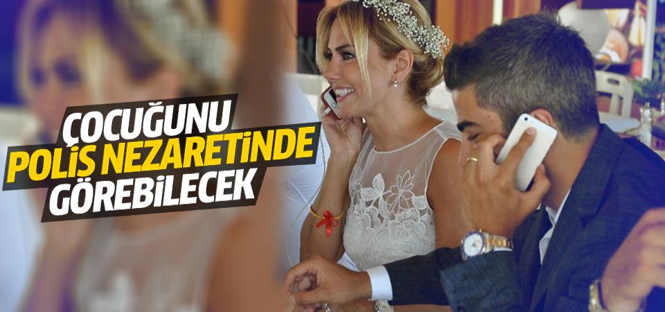 Ece Erken'in eşi Serkan Uçar çocuğu polis nezaretinde görecek