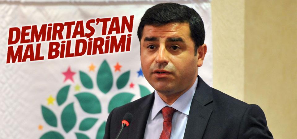 HDP Eş Genel Başkanı Demirtaş mal bildiriminde bulundu