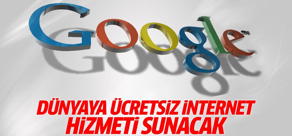 Google dünyaya ücretsiz Wi-Fi hizmeti sunacak