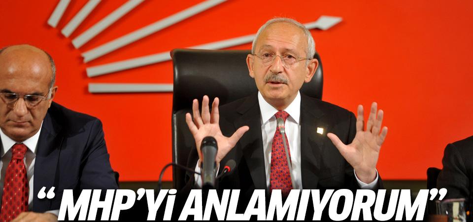 Kılıçdaroğlu'ndan MHP'ye HDP eleştirisi