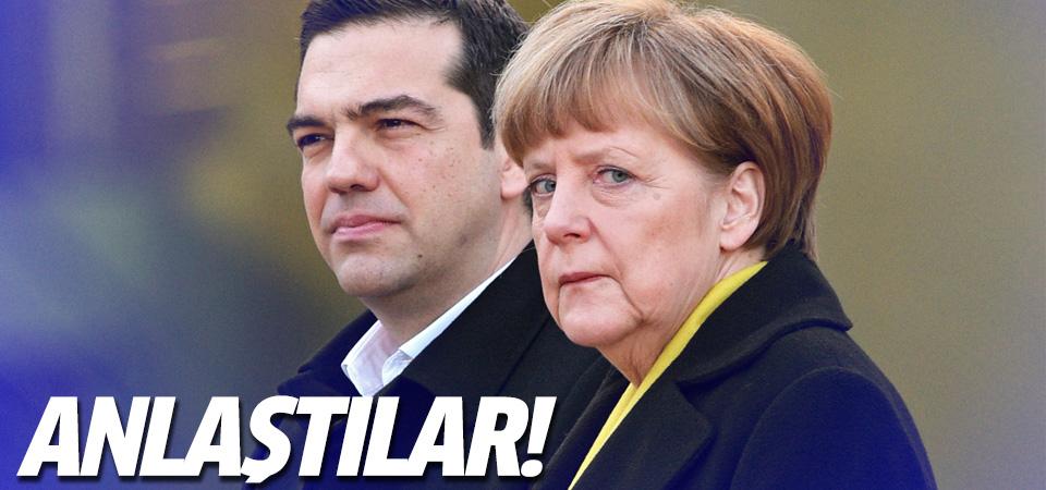 Merkel ile Çipras anlaştı