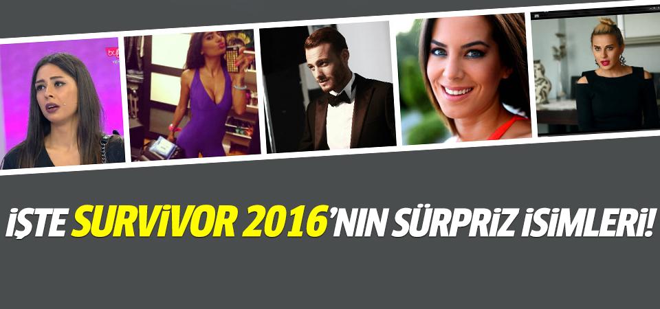 Survivor 2016 kadrosunda kimler var?