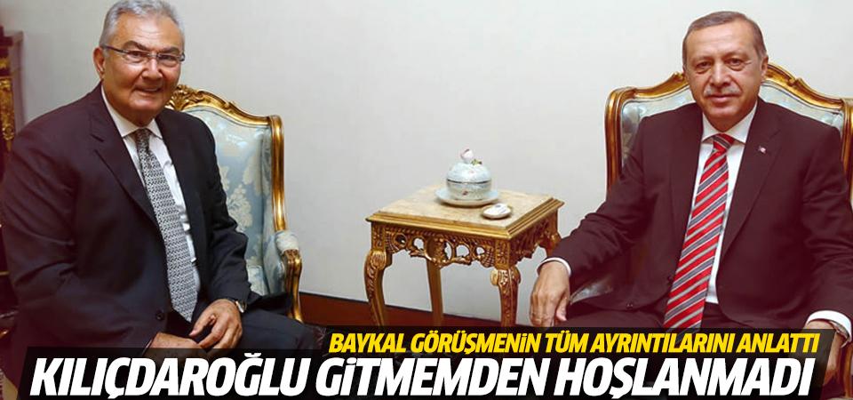 Baykal Erdoğan'la görüşmesini anlattı