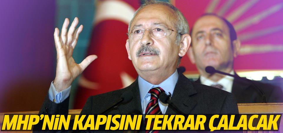 CHP koalisyon için MHP'nin kapısını tekrar çalacak